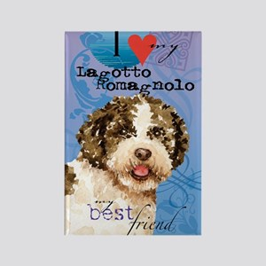 lagotto-kindle Rectangle Magnet