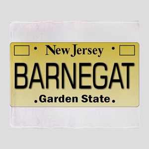 Barnegat NJ Tag Gifts Throw Blanket