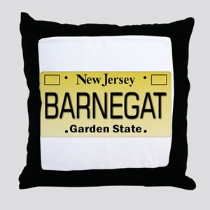 Barnegat NJ Tag Gifts Throw Pillow
