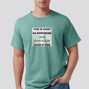 awesome land surveyor Mens Comfort Colors Shirt