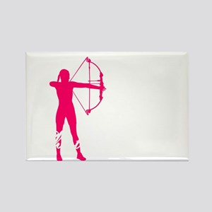 best shoot girl Rectangle Magnet