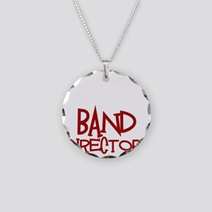 You Cant Scare Me...Band... Necklace Circle Charm