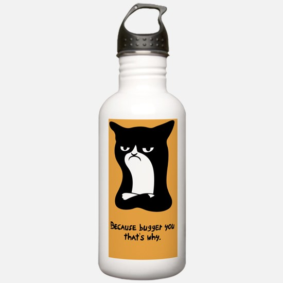 angry-cat2-CRD Water Bottle