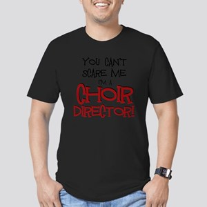 You Cant Scare Me...Ch Men's Fitted T-Shirt (dark)