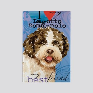 lagotto-journal Rectangle Magnet