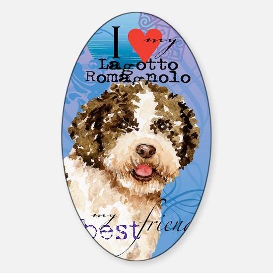 lagotto-journal Sticker (Oval)