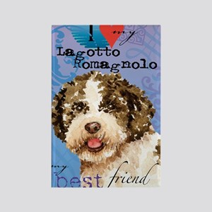 lagotto-key1 Rectangle Magnet