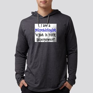 microbiologist Mens Hooded Shirt