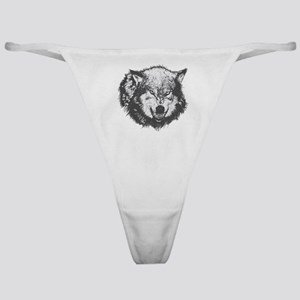 Angry Wolf Classic Thong