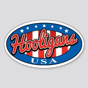 Hooligans USA Sticker (Oval)