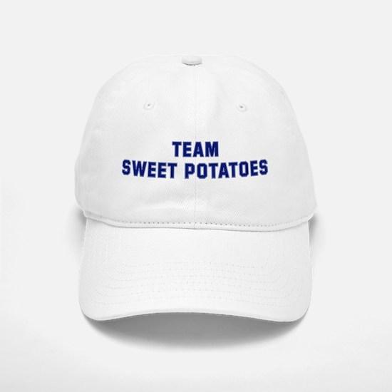 Team SWEET POTATOES Baseball Baseball Cap