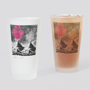 I Lava You Drinking Glass