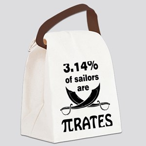 Sailors are pirates Canvas Lunch Bag