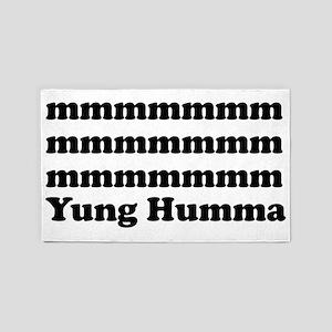 Yung Humma 3'x5' Area Rug
