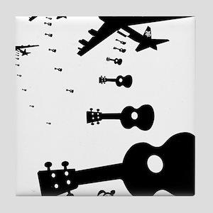 Uke Bombers Tile Coaster