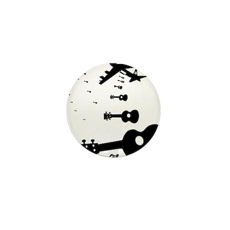 Uke Bombers Mini Button