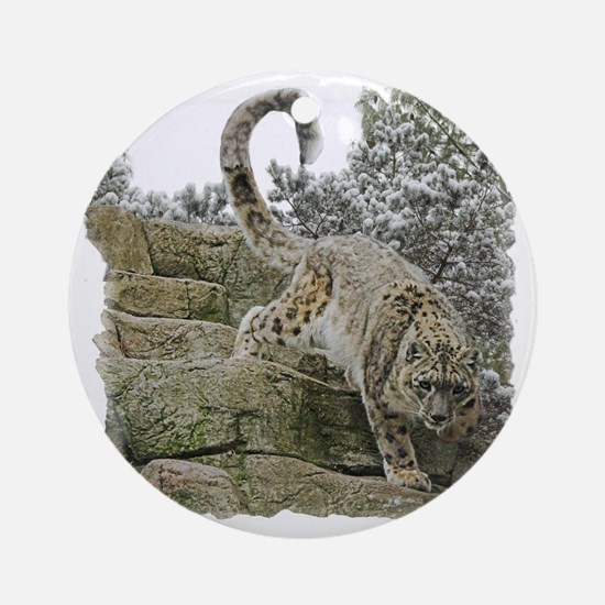prowler Round Ornament