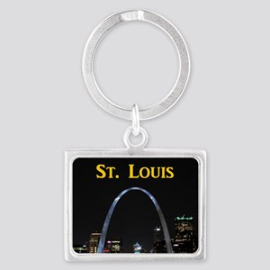 St Louis Gateway Arch Landscape Keychain