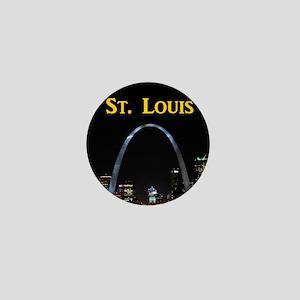 St Louis Gateway Arch Mini Button