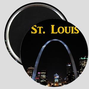 St Louis Gateway Arch Magnet