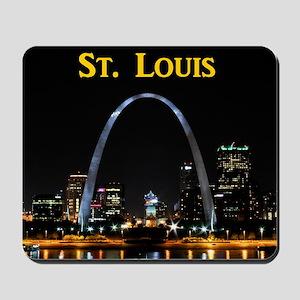 St Louis Gateway Arch Mousepad