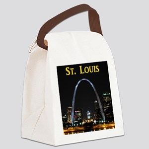 St Louis Gateway Arch Canvas Lunch Bag