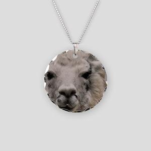 (14) Llama 8716 Necklace Circle Charm