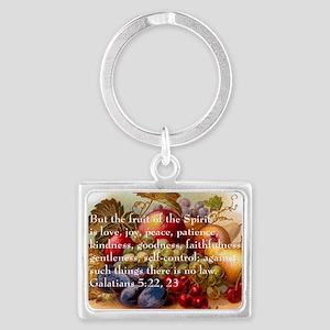 Fruit of the Spirit Landscape Keychain