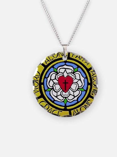 Grace Faith Word License Pla Necklace