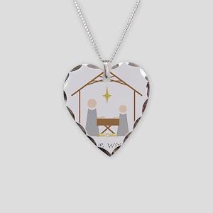 True Love Was Born Necklace Heart Charm