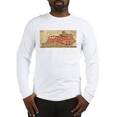 Flat Kentucky Long Sleeve T-Shirt