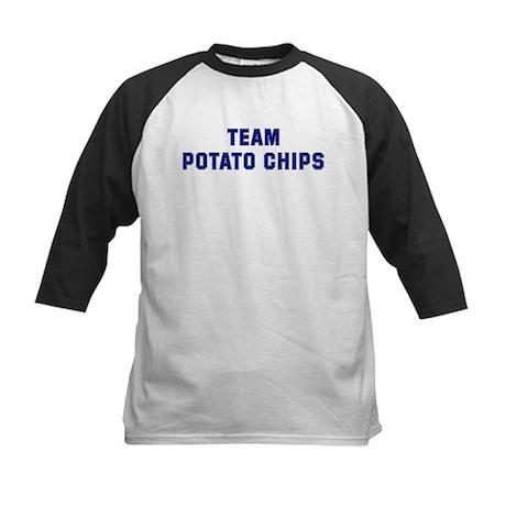 Team POTATO CHIPS Kids Baseball Jersey