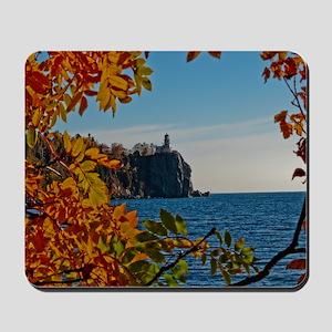 Fall at Split Rock Mousepad
