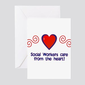 Social Workers Greeting Cards (Pk of 10)