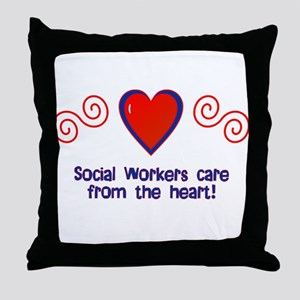 Social Workers Throw Pillow
