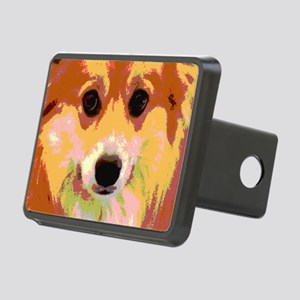 Pembroke Welsh Corgi Refle Rectangular Hitch Cover