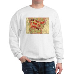 Flat Arkansas Sweatshirt