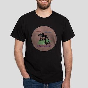 Fun Hunter/Jumper Equestrian Horse Dark T-Shirt