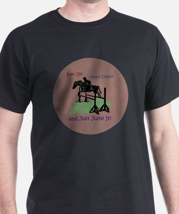 Fun Hunter/Jumper Equestrian Horse T-Shirt