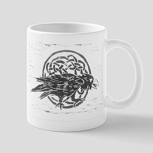 Celtic Raven Mug