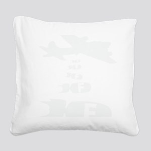 dropping the F Bomb Square Canvas Pillow