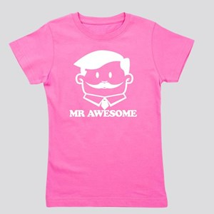 Mr awesome Girl's Tee