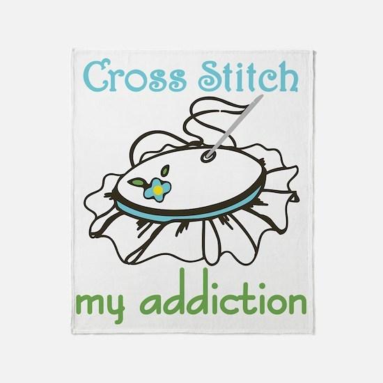 My Addiction Throw Blanket