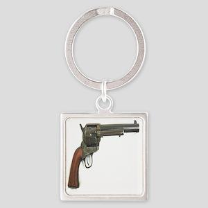 Revolver Square Keychain