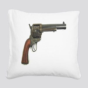 Revolver Square Canvas Pillow