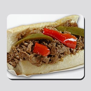 Italian Beef Sandwich from Chicago Mousepad