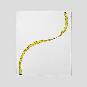 Measuring Tape Throw Blanket