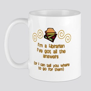 I'm a Librarian Mug
