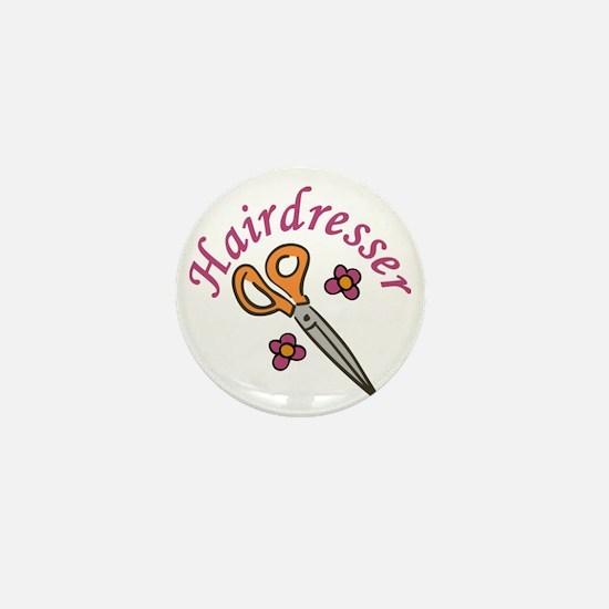 Hairdresser Mini Button