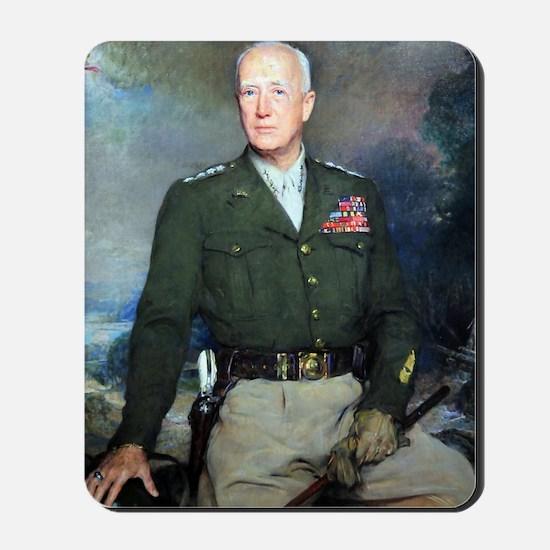 General Patton  Mousepad